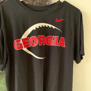 Georgia football dri-fit shirt